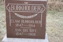 Ann <i>Aldritt</i> Burkholder