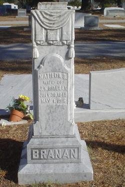 Matilda B <i>Brundage</i> Branan