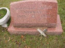 Mardelle Lavon <i>Hocker</i> Bowman