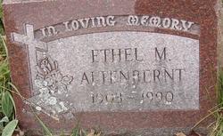 Ethel M Mae <i>Butler</i> Adams Altenbernt