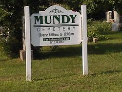Mundy Cemetery