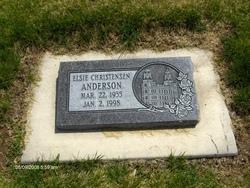Elsie <i>Christensen</i> Anderson