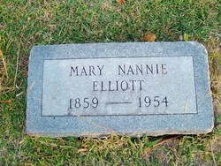Mary Nannie Elliott
