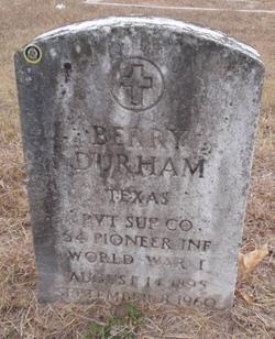 Berry Durham