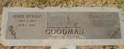 Clara <i>Platt</i> Goodman
