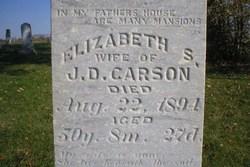 Susan Elizabeth <i>Saunders</i> Carson