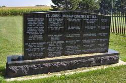 Saint Johns Evangelical Lutheran Cemetery