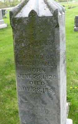 Rev Arthur Badley