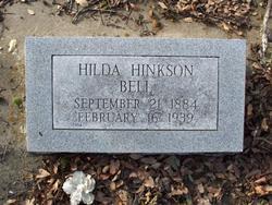 Hilda B <i>Hinkson</i> Bell