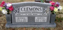 Martha Jewell <i>Wolf</i> Clemons