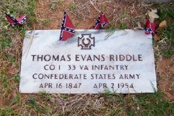 Thomas Evans Riddle