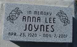 Anna Lee Joynes