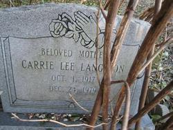 Carrie Lee Langdon