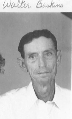 Walter Lewis Baskins, Sr