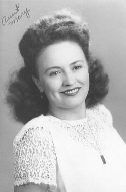 Mary M Aunt Dick Baskins