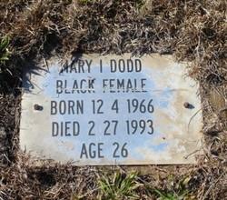 Mary Irene Dodd