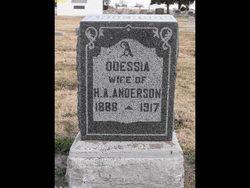 Opal Odessia <i>Chapman</i> Anderson