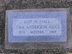 Cora Lee <i>Gallahone</i> Anderson-Ridge