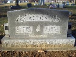 Frieda May <i>Toney</i> Acton