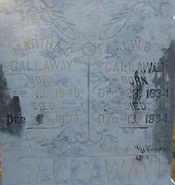 Martha C Callaway