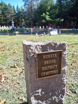 Webber Brook District Cemetery