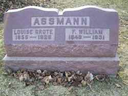 Louise <i>Grote</i> Assmann