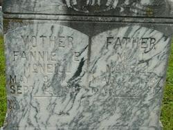Fannie Mary Elizabeth <i>Kincade</i> McNeill