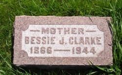 Bessie Jane <i>Kirk</i> Clarke