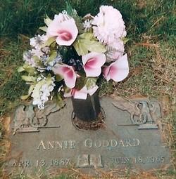Anna Annie <i>Sauers</i> Goddard