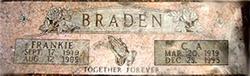 Frankie Dee <i>Slaughter</i> Braden