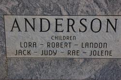 Robert Donal Anderson