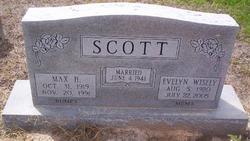 Ruth Evelyn <i>Wisely</i> Scott