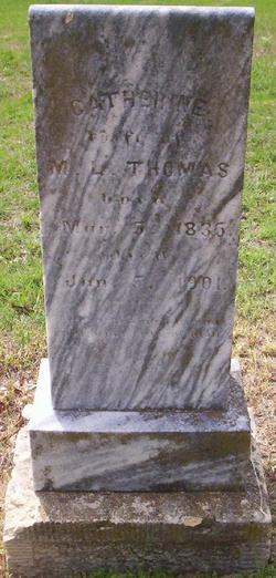 Catherine J. <i>Wisely</i> Thomas