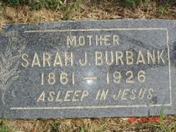Sarah Jane Jennie <i>Stanton</i> Burbank