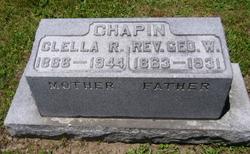Rev George Washington Chapin