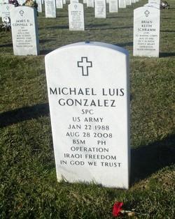 Spec Michael Luis Gonzalez