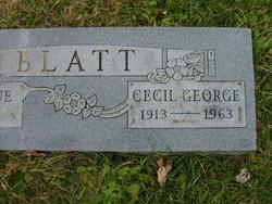 Cecil George Blatt