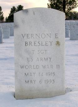 Vernon E Bresley