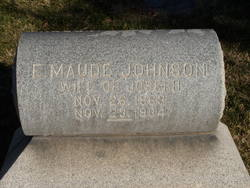 E Maude <i>Johnson</i> Crosby