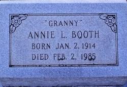 Annie L Granny Booth