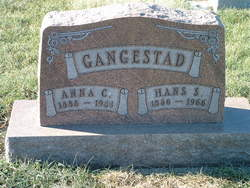 Anna Christine <i>Olson</i> Gangestad