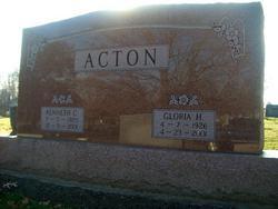 Gloria <i>Hall</i> Acton