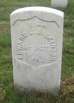 Sgt Edward L. Dickinson