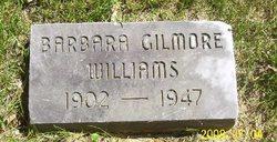 Barbara <i>Gilmore</i> Williams