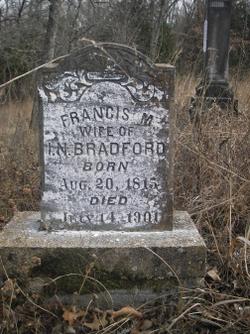 Francis Mary <i>Vance</i> Bradford