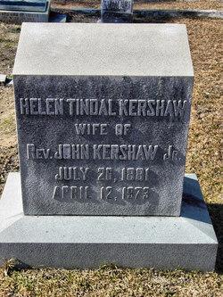 Helen <i>Tindal</i> Kershaw