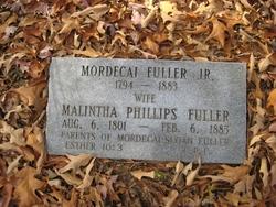 Mordecai Dick Fuller, Jr