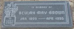 Beulah May Brown