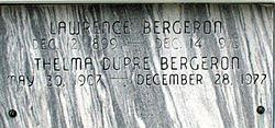 Thelma <i>Dupre</i> Bergeron