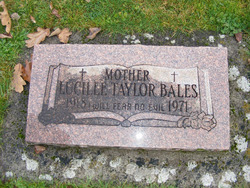 Lucille Taylor Bales